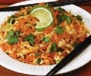 Vermicelle de riz thaï au poulet