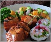 Yakitori de saumon
